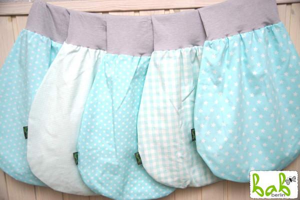 0-6 Monate Handmade Strampelsack für Sommer/Winter, Baby Pucksack Schlupfsack für Mädchen/Jungen hbl