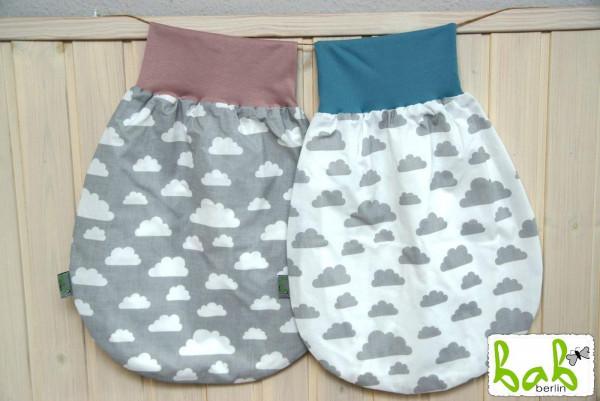 0-6 Monate Handmade Strampelsack für Sommer/Winter, Baby Pucksack Schlupfsack für Mädchen/Jungen gan
