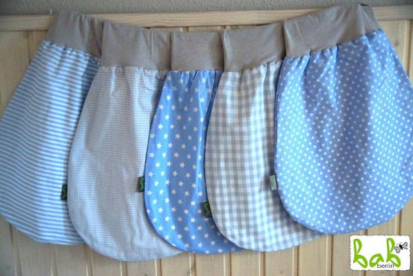 ❤️ 0-6 Monate Handmade Strampelsack für Sommer/Winter, Baby Pucksack Schlupfsack für Mädchen/Jungen